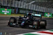 Hamilton denies Bottas pole position after Ocon spin