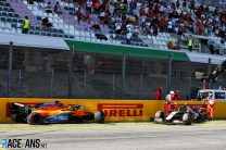 """Restart crash """"reminded me of nasty things from the past"""" – Sainz"""