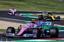"""Sainz concerned by Stroll's """"really quick"""" pace in upgraded Racing Point"""