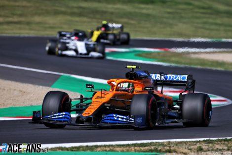 Lando Norris, McLaren, Mugello, 2020