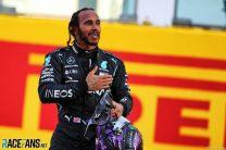 Hamilton wins crash-strewn Tuscan Grand Prix