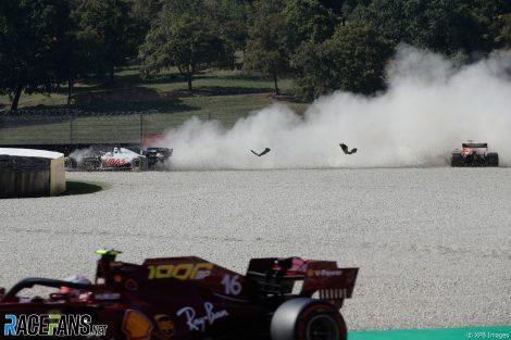 Romain Grosjean, Haas, Mugello, 2020