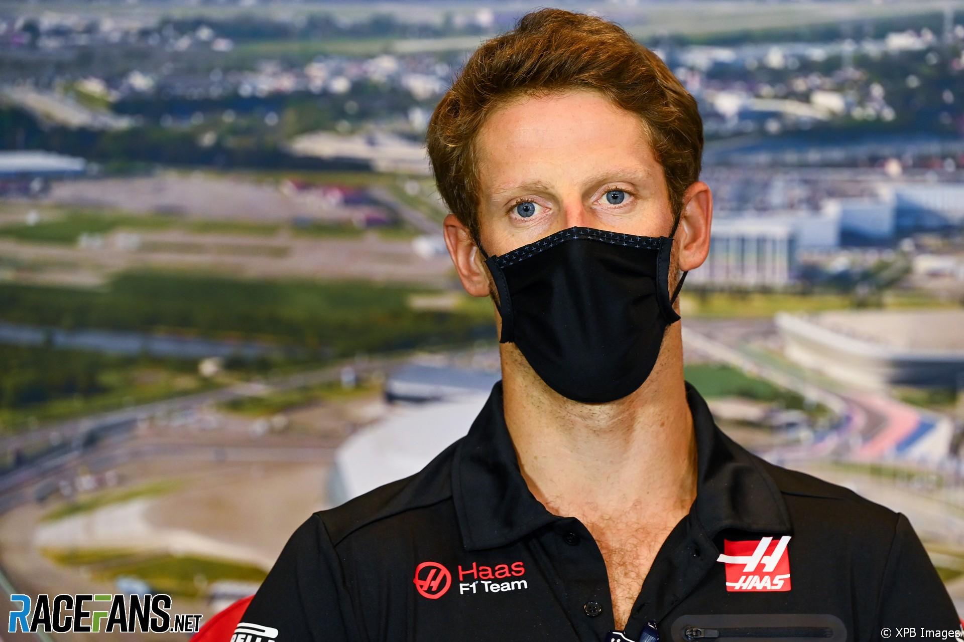 Romain Grosjean, Haas, Sochi Autodrom, 2020