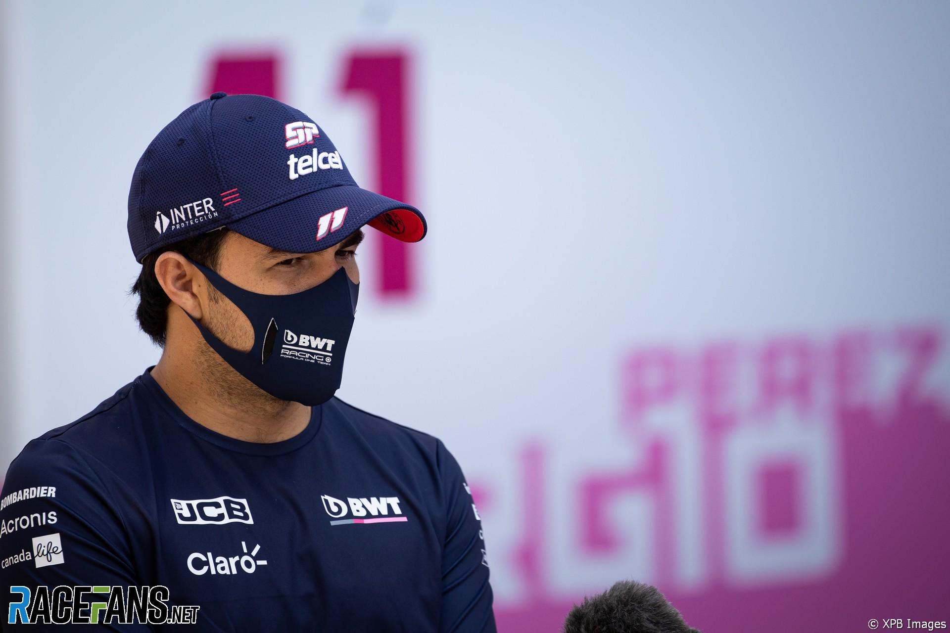 Sergio Perez, Racing Point, Sochi Autodrom, 2020