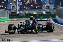 Bottas fastest again as Red Bull struggle in Sochi