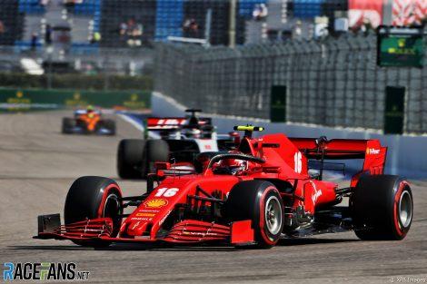 Charles Leclerc, Ferrari, Sochi Autodrom, 2020
