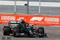 2020 Russian Grand Prix grid