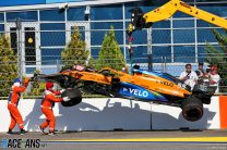 Sochi's turn two is badly designed, says Sainz after crash