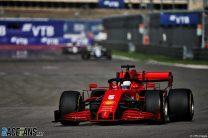 Sebastian Vettel, Ferrari, Sochi Autodrom, 2020