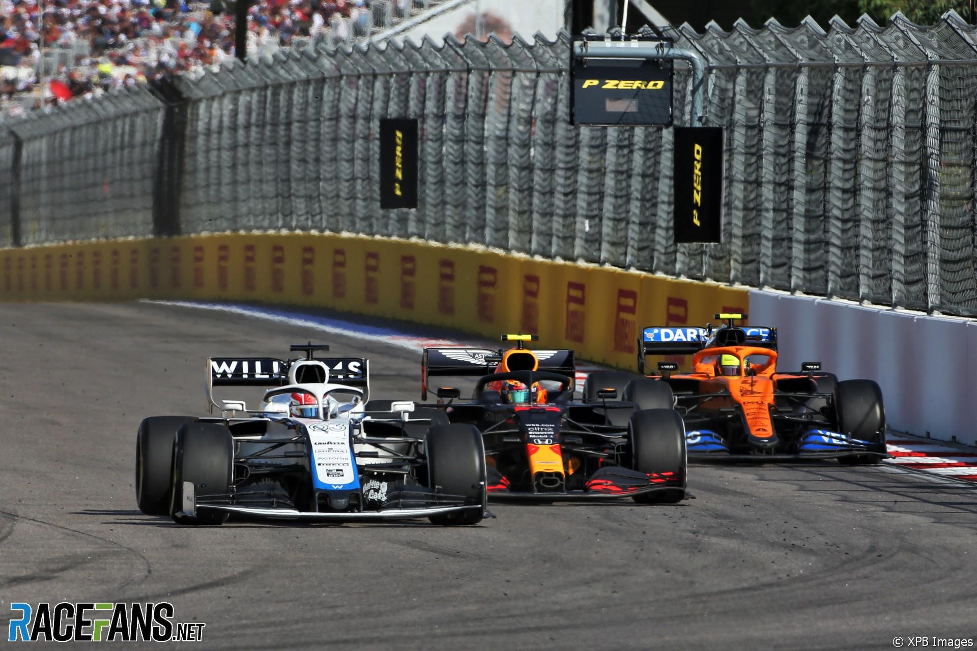George Russell, Williams, Sochi Autodrom, 2020