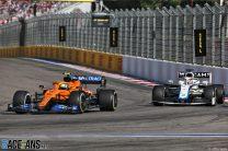 Lando Norris, McLaren, Sochi Autodrom, 2020