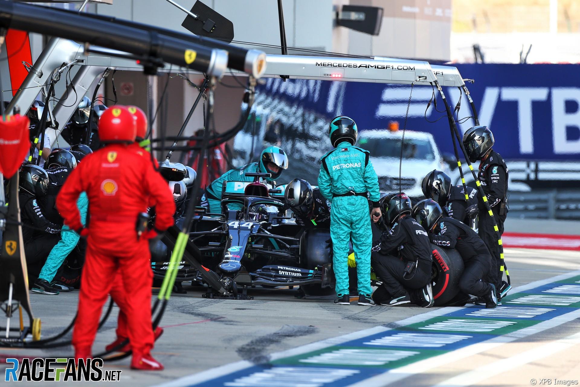Lewis Hamilton, Mercedes, Sochi Autodrom, 2020