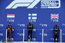 Max Verstappen, Valtteri Bottas, Lewis Hamilton, Sochi Autodrom, 2020