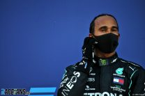 """Hamilton vows not to give stewards an """"excuse"""" to ban him"""