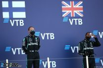Valtteri Bottas, Lewis Hamilton, Mercedes, Sochi Autodrom, 2020