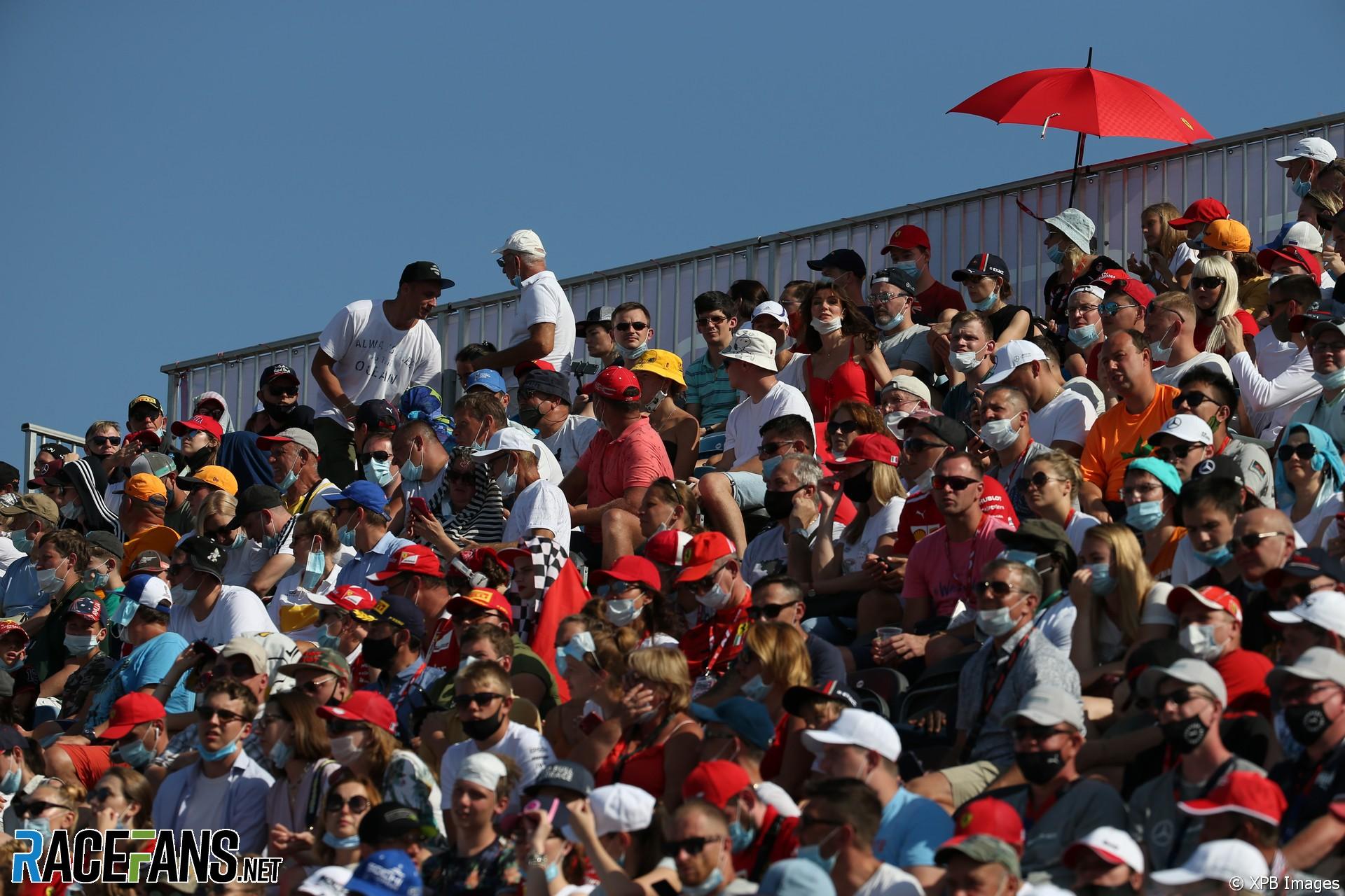 Fans, Sochi Autodrom, 2020