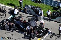 Mercedes realised stewards 'were not going to like' Hamilton's practice starts