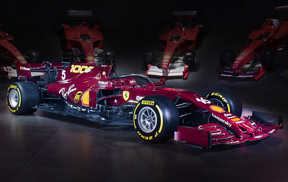 Ferrari 1,000th race livery