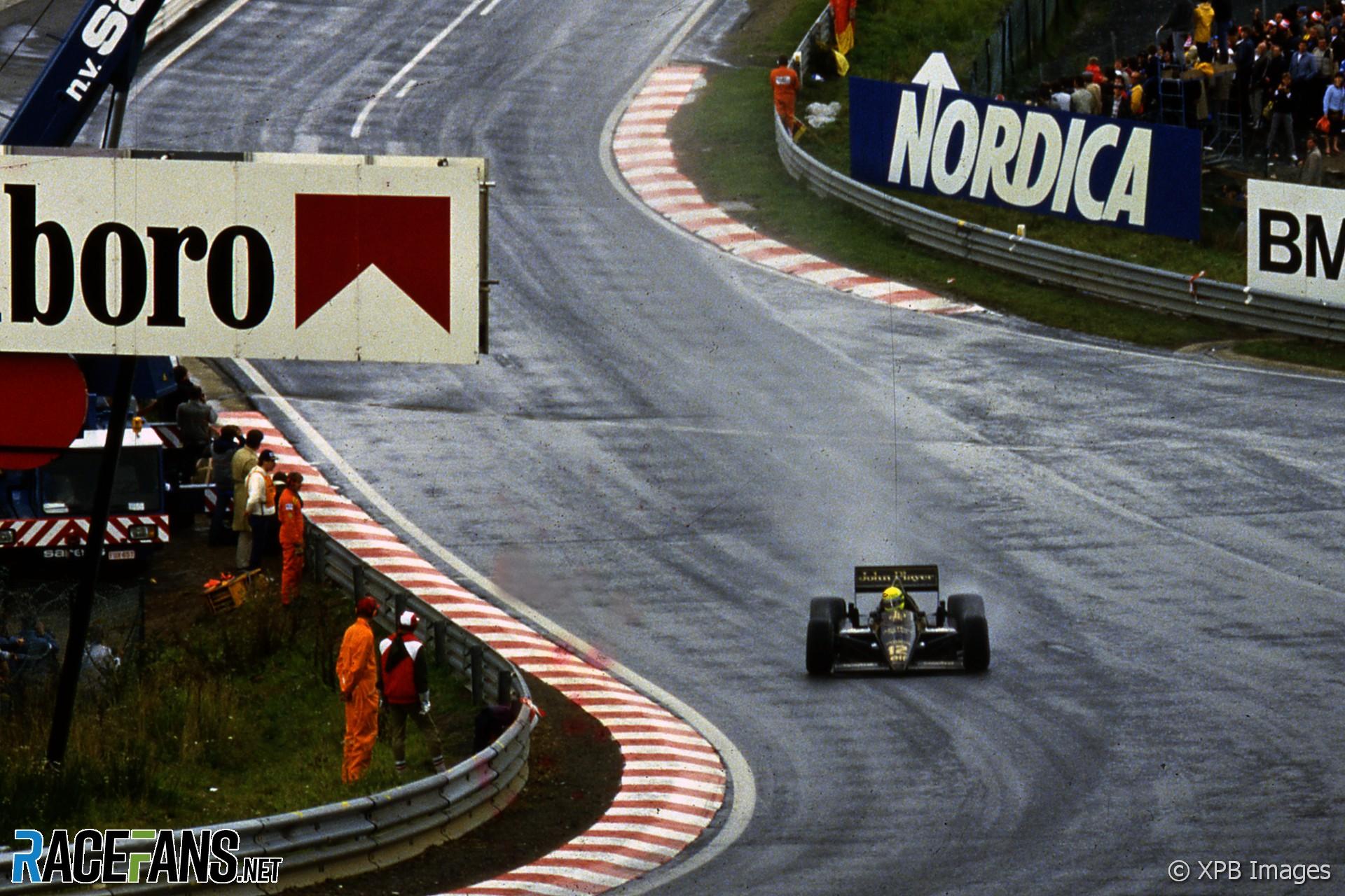 Ayrton Senna, Lotus, Spa-Francorchamps, 1985