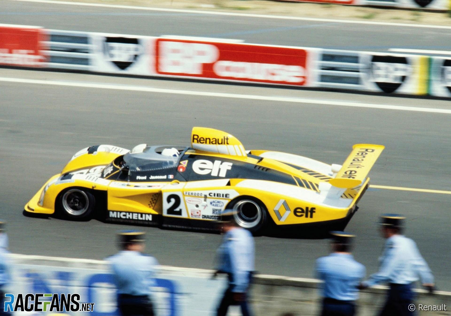 Didier Pironi, Jean-Pierre Jaussaud, Renault-Alpine, Le Mans 24 Hurs, 1978