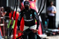 Hamilton visited stewards during red flag period to make his case against penalty