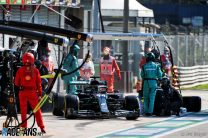 "Hamilton accepts ""severe"" stop-go penalty for pit lane violation"