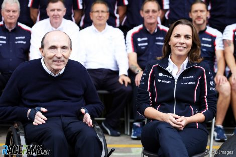 Frank Williams, Claire Williams, 2013