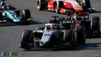 Mazepin wins lively feature race as Schumacher takes championship lead