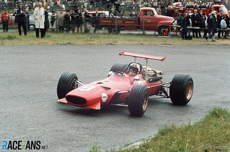 Chris Amon, Ferrari, Zandvoort, 1968