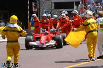 Schumacher sent to the back of the grid