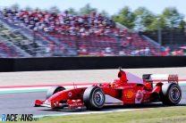 Mick Schumacher, Ferrari F2004 run, Mugello, 2020