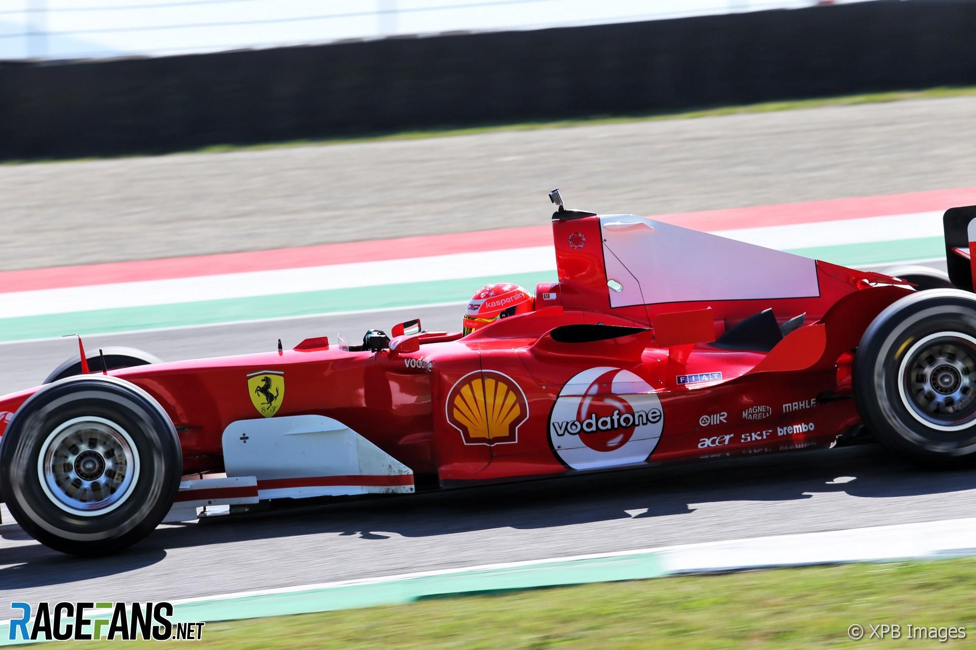 Mick Schumacher Ferrari F2004 Run Mugello 2020 Racefans
