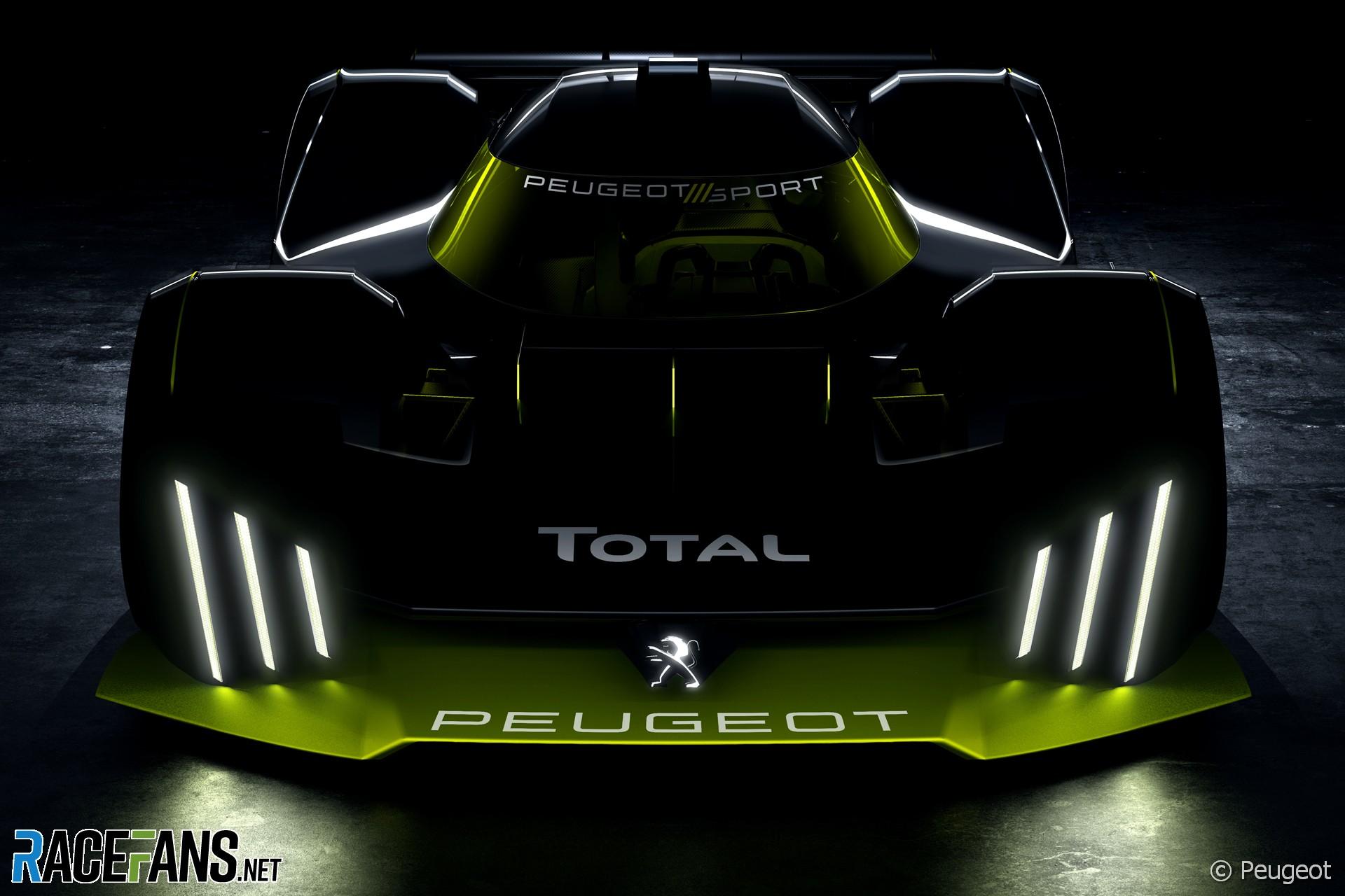 Peugeot 2022 Le Mans Hypercar project