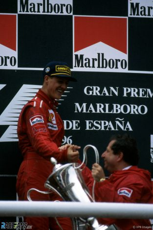 Michael Schumacher, Jean Todt, Circuit de Catalunya, 1996