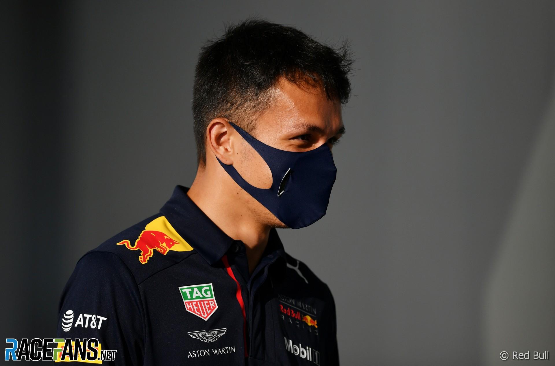 Alexander Albon, Red Bull, Sochi Autodrom, 2020