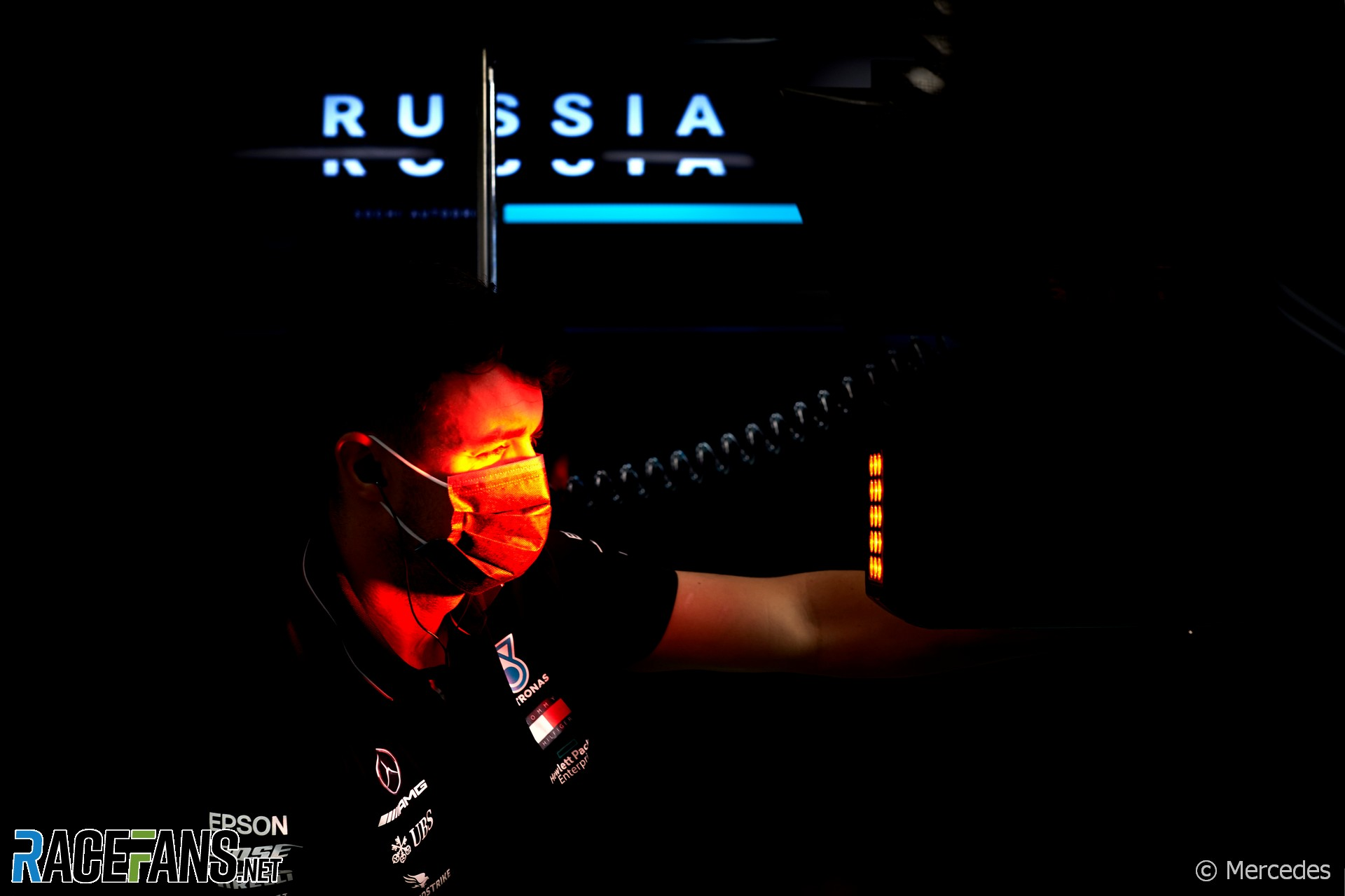 Mercedes, Sochi Autodrom, 2020