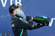 Bottas grabs Russia win after double penalty for Hamilton