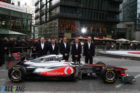 Roberts' pre-Williams F1 career was with McLaren...