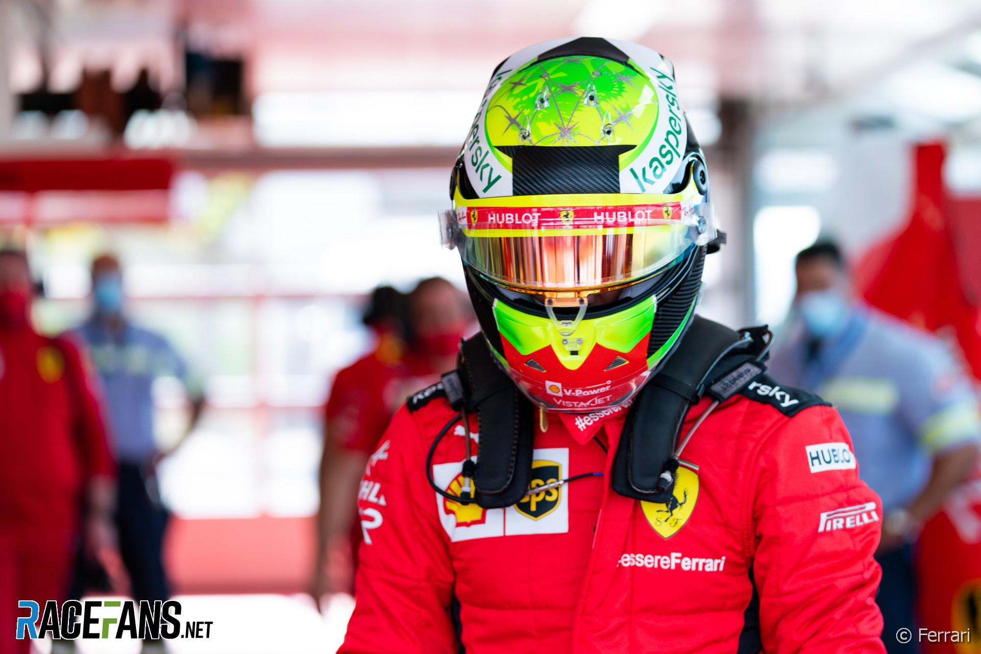 Mick Schumacher Ferrari Fiorano 2020 Racefans