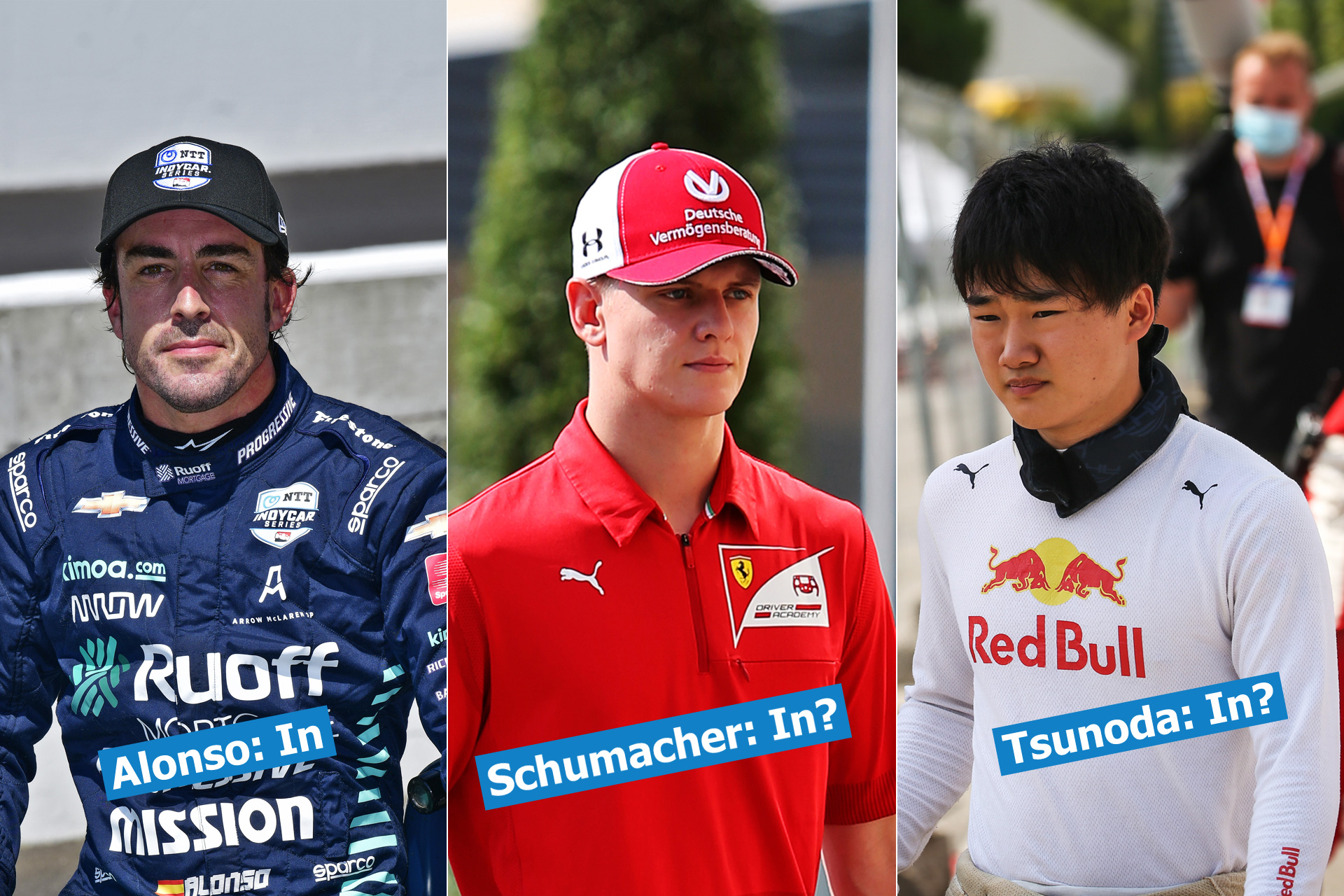 F1 Driver Market 2021 Three In Three Out Racefans
