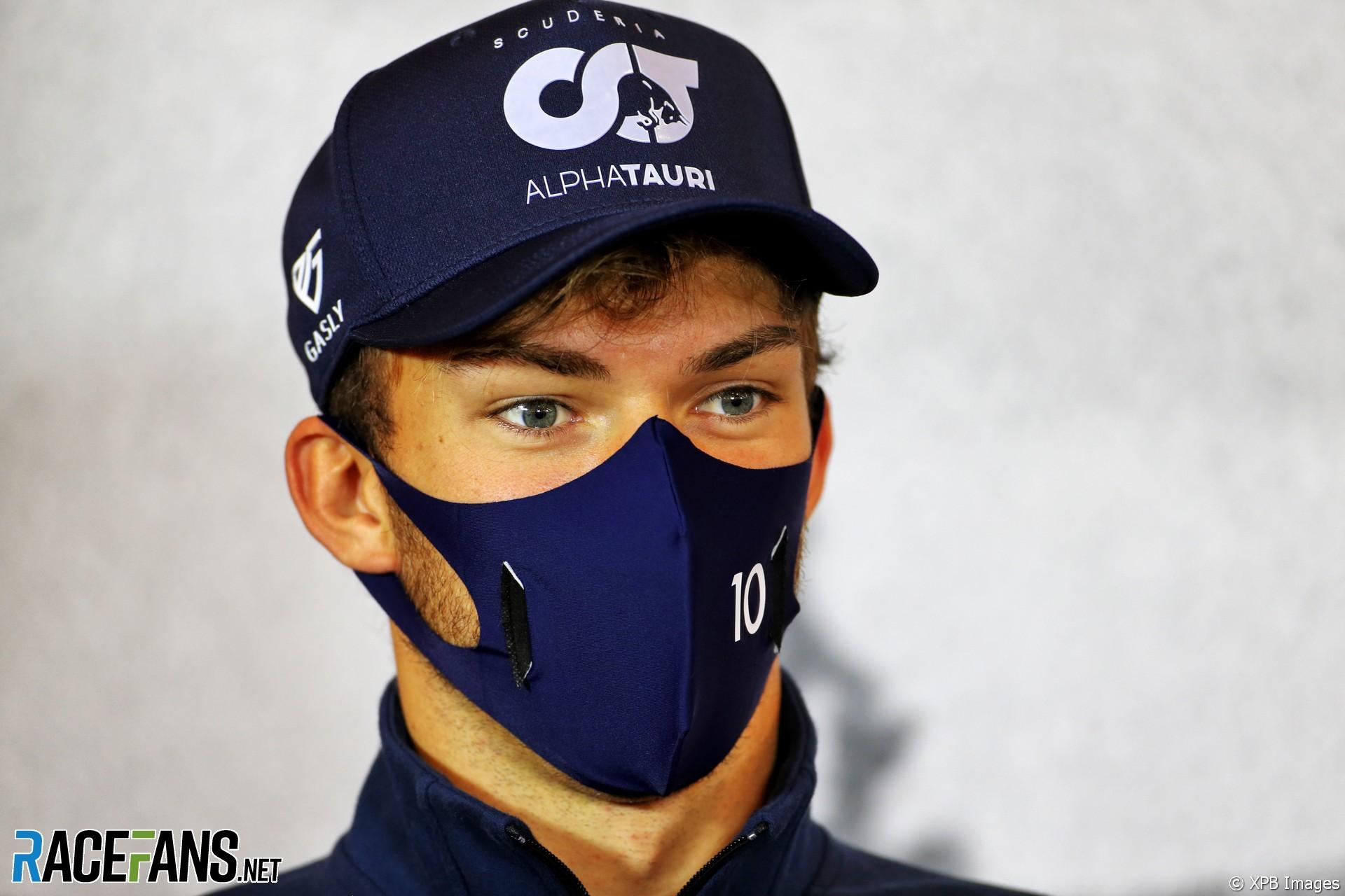 Pierre Gasly, AlphaTauri, Nurburgring, 2020