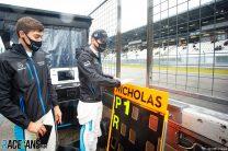 George Russell, Nicholas Latifi, Williams, Nurburgring, 2020