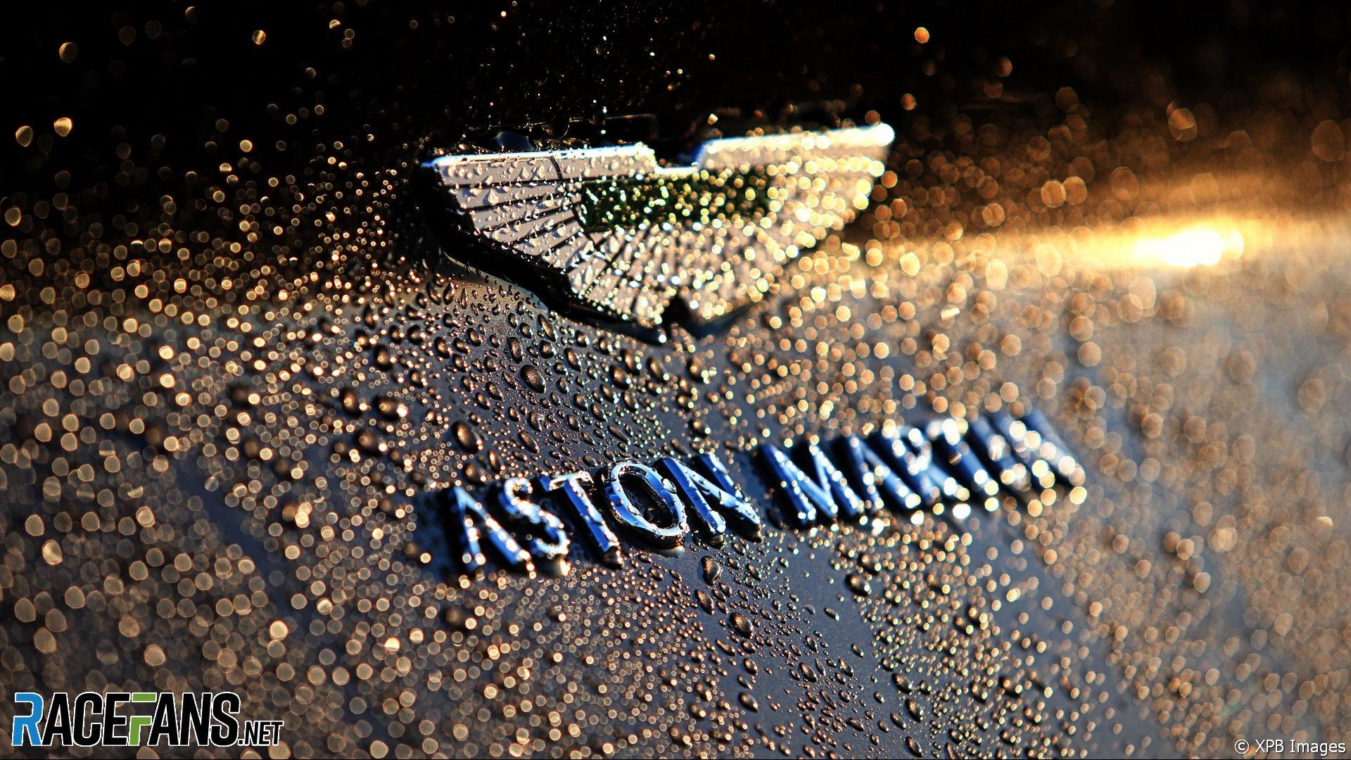 Aston Martin logo, Nurburgring, 2020