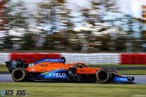 Carlos Sainz Jnr, McLaren, Nurburgring, 2020