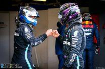 Valtteri Bottas, Lewis Hamilton, Mercedes, Nurburgring, 2020