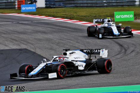 George Russell, Williams, Nurburgring, 2020