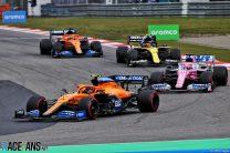 Norris expects grid penalties after Eifel GP power unit problem