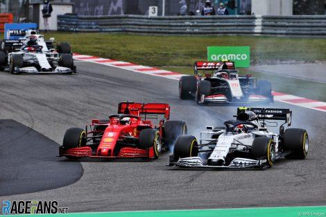 Sebastian Vettel, Pierre Gasly, Nurburgring, 2020