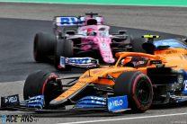 Lando Norris, McLaren, Nurburgring, 2020