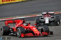 Vettel admits he 'took too much risk' after early spin